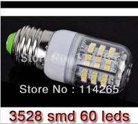 Free Shipping SMD 3528 60 LED AC85V-240V LED Spot Lights G9 E14 E27 Bulb Lamp 5W Warm White/cold white