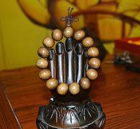 Ebony gold Nan the prayer beads 15MM gloomy wood bracelet