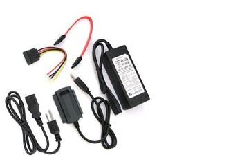 1set USB 2.0 to IDE SATA S-ATA 2.5 3.5 HD HDD Adapter Cable