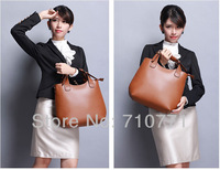 2013New Fashion gebuine leather handbag women  Messenger bag lady bags Freeshipping Wholesale