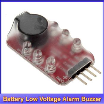 10pcs/lot RC model 2S 3S Detect Lipo Battery Low Voltage Alarm Buzzer+ Register free shipping