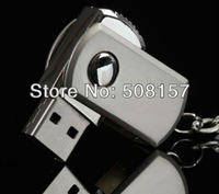 Free Shipping,swivel with key chain metal USB pendrive,2GB 4GB 8GB 16GB  usb flash disk 50pcs print your LOGO, gift memory