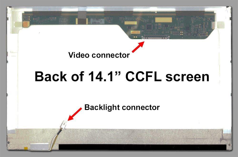 "14.1"" LCD Screen WXGA CCFL Display For LP141WX1-TLE3 LTN141W1-L04(China (Mainland))"