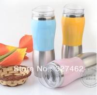 FREE SHIPPING 100% Brand New Free Shipping Coffee Mug Car Mug Travel mugs stainess steel keep warming +22*8CM