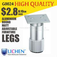 Stripe Sofa Legs Height adjustable Furniture Legs&Cabinet Legs Matt Sofa Legs (4 pieces/lot) LICHEN SOFA FEET B0024-100