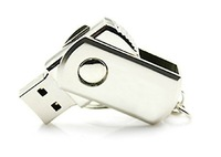Hot Sale 1pcs Full Capacity Swivel USB flash drive USB 1G 2G 4G 8G 16G 32G free shipping 1021