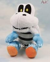 "Free Shipping EMS 100/Lot New Super Mario Bros. Dry Bones Plush Doll Stuffed Toy 6"" Wholesale"