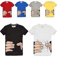 2013 Men's Casual 100% cotton fashion O-neck short-sleeve T-shirt hold Mutiple Designs 21 Articles Brand Men's Cotton T shirt