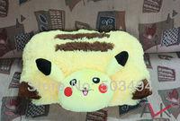 Cute Pokemon PIKACHU Cushion Pillow Plush Doll New Wholesale 30pcs.lot Free Shipping