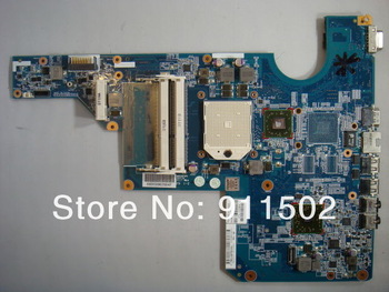 Free Shipping  597674-001 MOTHERBOARD  for HP  G62 CQ62 AMD DDR3 integrated  LAPTOP works well 100% Tested 30 DAYS WARRANTY