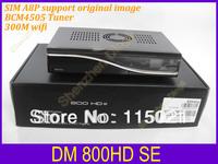 Digital satellite receiver 800hd se support 300M wifi,D6 version , 800se sim A8P support original software   800se free shipping