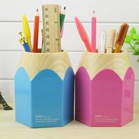 stationery Lackadaisical 9145 pen big pencil tube pen deli stationery pen holder