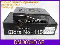 2pcs a lot Digital satellite receiver dm800hd se  wifi,D6 version 800se sim A8P support original software   800se free shipping