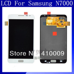 Free shipping For Samsung Galaxy Note N7000 i9220 LCD with touch screen Assembly Brand 100% original(China (Mainland))