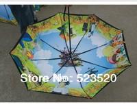 Free shipping Ghibli umbrella Hayao Miyazaki umbrella Howl's Moving Castle Japanese anime umbrellas
