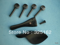 supply SFF003 Student violin jujube fitting(imitation to ebony) 4/4