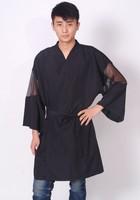 High Quality Hairdressing Kimono Salon kimono With Pocket for Salon and SPA  LOGO CAN BE PRINT!