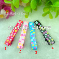 Free shipping! Han edition hair accessory, popular children's hair clip -5 cm square printed pentagram duckbill clips,100PCS/bag