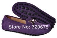 2013 rubber  leather party  women fashion loafer outdoor flat  casual shoes lady