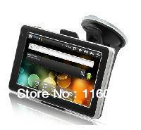 Supper Hot!Bottom Price Fast Freeshipping Mini And 2.3 Tablet GPS Navigator with 5 Inch Touchscreen (WiFi, 8GB, FM Transmitter)(China (Mainland))