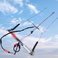 4 line kitesurfing bar,power kite snow kite bar,leash,high quality kitesurfing ,power kite bar