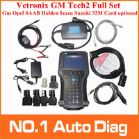 2014 DHL free GM TECH2 diagnostic tool (GM,OPEL,SAAB ISUZU,SUZUKI HOLDEN) Vetronix gm tech 2 scanner Without black plastic box