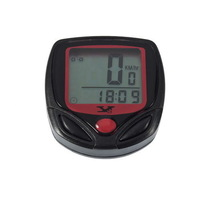 Multifunctional Waterproof LCD Display Digital Cycling/Cycle/Bike/Bicycle Computer Odometer Speedometer Free Shipping