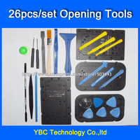 26 in 1 Opening Tools Repair Tools Phone Disassemble Tools set Kit For iPhone 4G 4S 5 iPad HTC Cell Phone Tablet PC