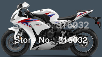 Fairing Kit For Honda CBR1000RR  2012 ABS INJECTION HRC Pearl White Blue Red Original design