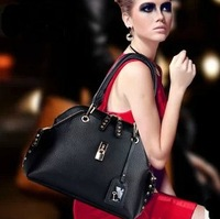 2013 Hot New Fashion Women Genuine Leather Satchel Tote Clutch Purse Handbag Shoulder Bags