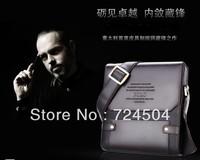 Wholesale - Free Shipping ! new design men briefcase bag ,men business bag, high quality shoulder messenger