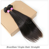 Queen hair products brazilian body wave,100% human virgin hair 4pcs lot,Grade 4A,unprocessed hair HWT01