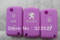 100pcs/lot  high quality remote control car case wholesales/peugeot key 3 button/car keyless case hotsales