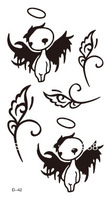 Waterproof tattoo sticker fairy decorative pattern