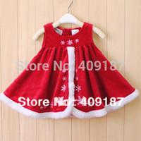 velvet fashion children tank dress, for 95cm height  Child