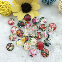 15mm round cabochon already glued on the image transparent glass cabochons blank pendant cover xl261