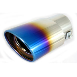 New Tiida grilled blue tail pipes Feng - Fan Yuyan Corolla Tianyu SX4 special modified stainless steel exhaust pipe