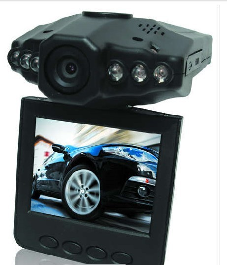 "Aliexpress Clearance Sale H198 Car DVR Video Registrar with 90 Degree View Angle 2.5"" LCD 6 IR LED Night Vision DVR Car Camera(China (Mainland))"