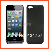Free Shipping,2200mah Extra Battery Case For Iphone5 Emergency Charger Case, Factory Supply, White and Black Color