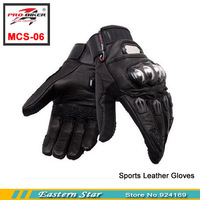 Pro motorcycle gloves electric bicycle gloves racing gloves full genuine leather cold mcs-06