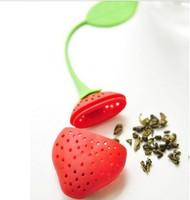 Creative Cute Strawberry Style Tea Stick Antique Bronze Brass Teapot Settings for Making Tea Accessory