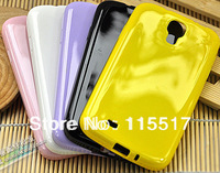 DHL Candy Pudding  soft silicon TPU Case back cover shell for Samsung galaxy S4 i9500 SIV