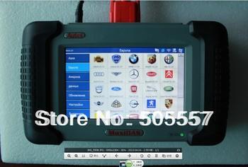 [Autel Honesty Distributor]exclusive  supply original Autel MaxiDAS DS708 Russian Version  scanner
