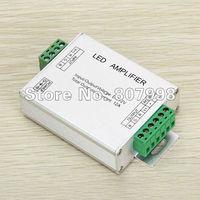 Free ship,DC 12V 4A RGB LED Amplifier ,LED Strips Light Signal Amplifier