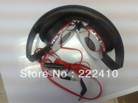 Factory direct sales hot sale stereo headphones headset with retail box 3.5mm plug free shipping