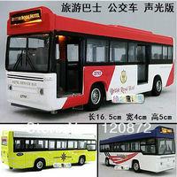 4 tourist bus plain WARRIOR alloy car alloy model car toy