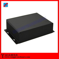 DAC amplifier shell-aluminum chassis, computer instrumentation aluminum chassis shell 156*28*100  mm (wxhxl)