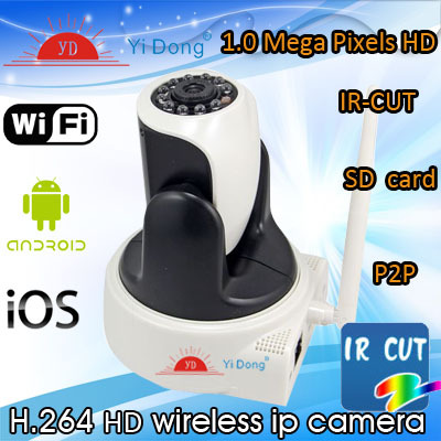 10 pcs Wireless WiFi Network IR Night Vision Security Surveillance IP Camera Dual-Way Audio Support Iphone/ Smartphone View(China (Mainland))
