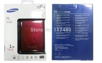"SAMSUNG S2 1TB 2.5"" USB3.0/2.0  External Portable Hard Disk Drive, SATA HDD"