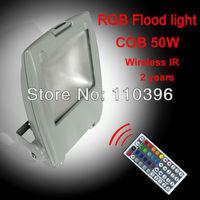 alibaba express lighting bridgelux 50w led flood light  rgb warm white/white wall washer garden 220v